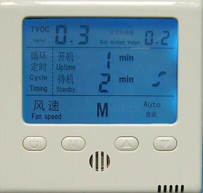 新风系统感应开关液晶开关控制器产品图片高清大图