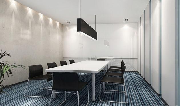 君灵会议室装修设计产品图片高清大图