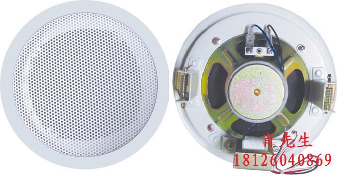 有源天花喇叭/有源天花喇叭扬声器/消防喇叭系统/天花喇叭怎么接线