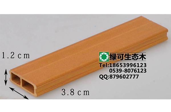 艾木生态木38*12方木吊顶格栅客厅玄关装饰装修材料