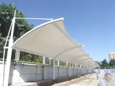 天津专业膜结构停车棚膜结构景观天津最好膜结构施工