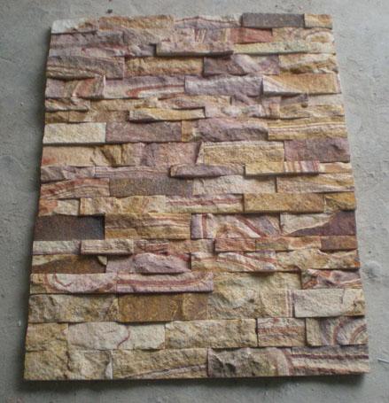商机库 建筑,建材 石材石料 >> 彩虹砂岩,文化石,砂岩文化石,木纹文