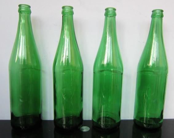 v白酒山东地区白酒玻璃瓶,绿色绿色瓶,绿色啤酒瓶滚筒转印机图片