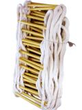 手工编织软梯、穿芯钢丝绳软梯、钢丝绳芯树脂管软梯、编织蚕丝绝缘软梯