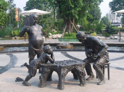 北京孔子铜雕像雕塑专业制作