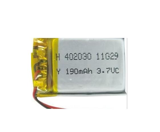 智能手表聚合物锂电池402030产品大图图片
