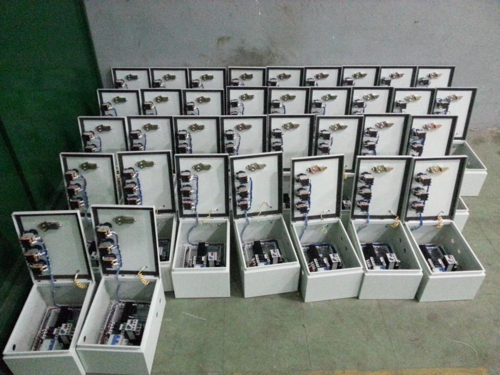 本系统采用三菱plc,三菱伺服(7轴)