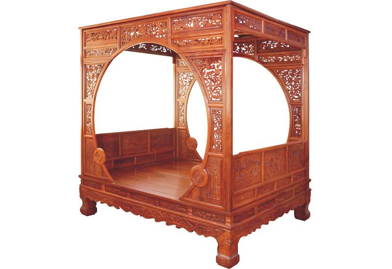 年年红红木家具市场 汉宫办公桌