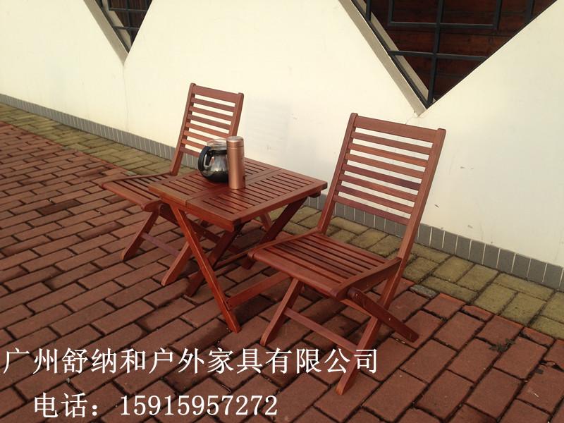 福建高档实木桌椅|六椅一桌组合实木桌椅|花园休闲家具