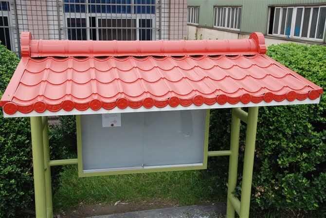 农村木结构屋顶盖琉璃瓦图片