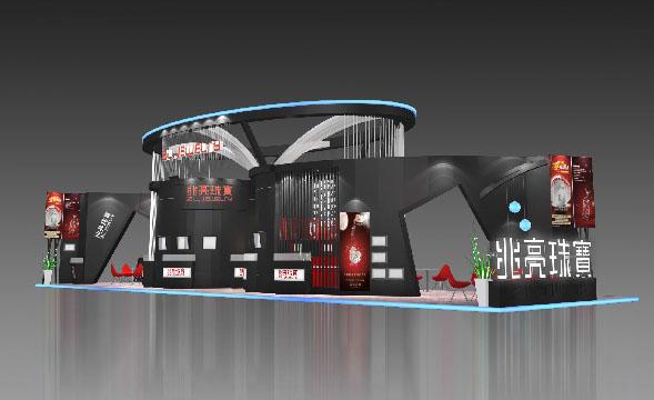 上海宠物水族展展台设计搭建高清图片 高清大图
