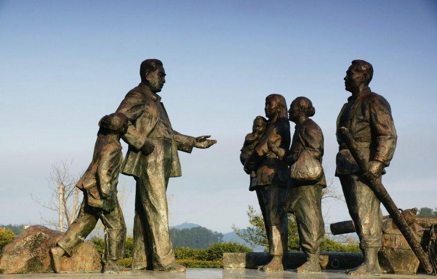 郑州红色抗战主题博物馆雕塑设计案例